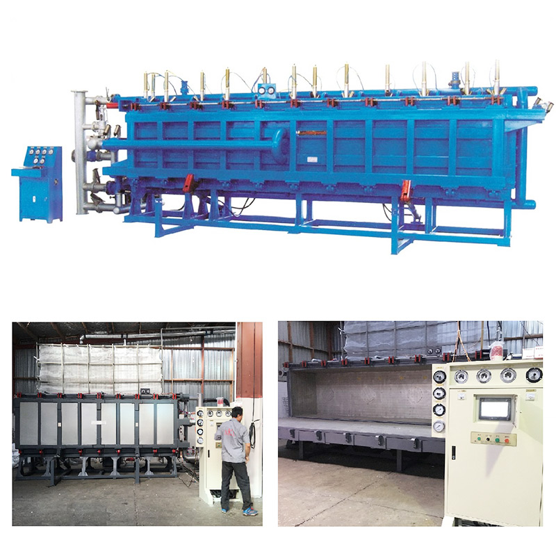 EPS Block molding machine with air cooling