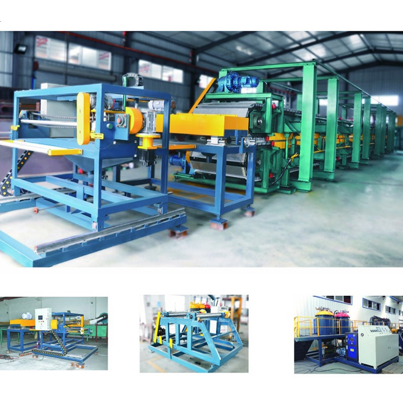 PU sandwich panel produce line