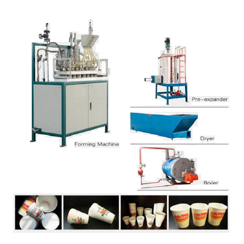 EPS cup produce line