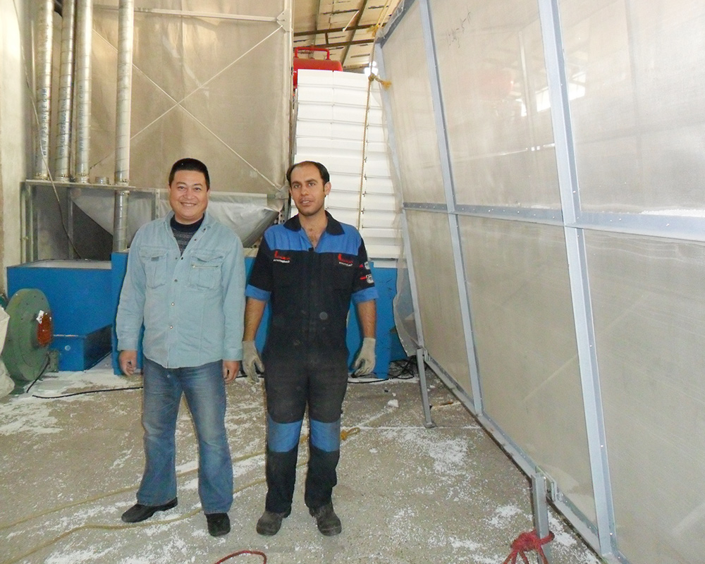 PR202 NKL technicion work in Iran