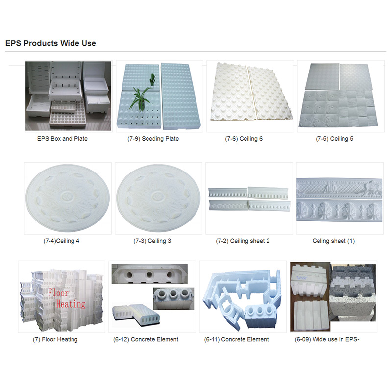 Process of EPS product produce line